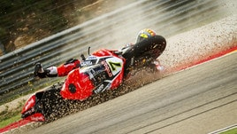 SBk: Davies infortunato, salta la World Ducati Week