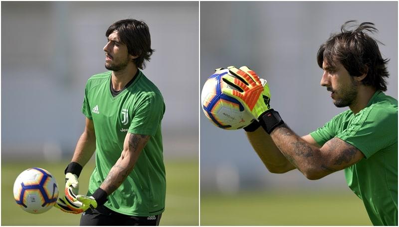 Juventus, show di Perin in allenamento: che parate!