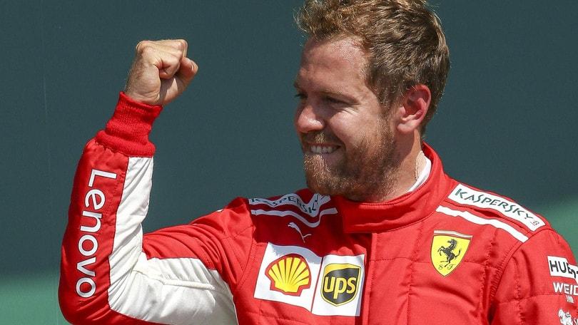F1, Gp Germania: prima vittoria di Vettel a Hockenheim a 2,50