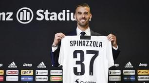 Juventus, ecco Spinazzola: indosserà la maglia numero 37