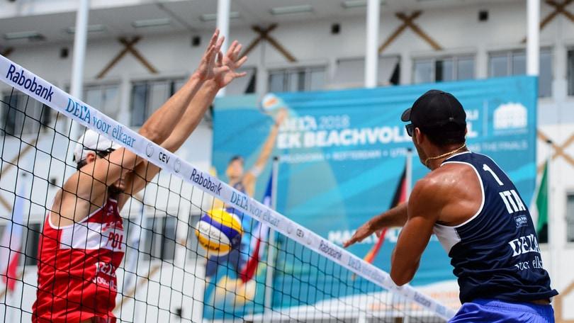 Beach Volley: Europei, eliminati Caminati-Rossi e Giombini-Menegatti