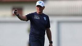 Serie A Empoli, Andreazzoli: «Soddisfatto dei tanti abbonamenti»