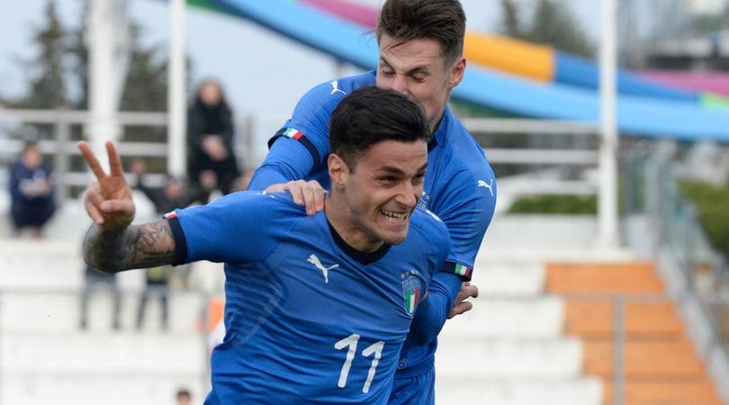 Europei U19, Portogallo-Italia 2-3: Scamacca e Frattesi in gol
