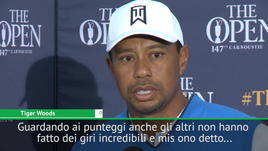 The Open, Tiger Woods: