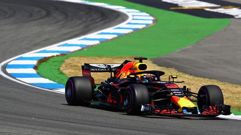 GP Germania 2018, piloti Red Bull soddisfatti dopo le libere