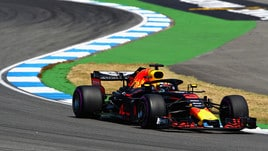 F1 Germania, Libere 1: Ricciardo leader, 4° Vettel