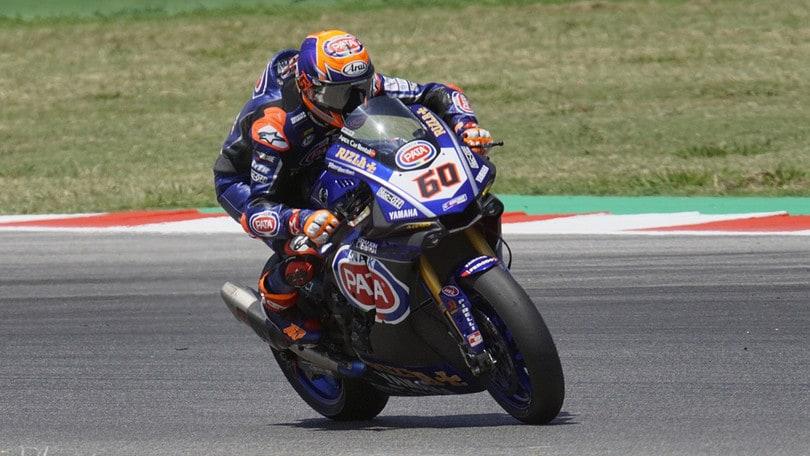 Superbike, van der Mark e Lowes ancora con Yamaha
