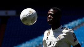 Vinicius jr. presentato al Real Madrid