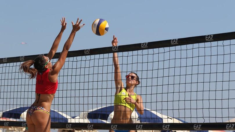 Beach Volley: nella tappa di Cervia è subito spettacolo