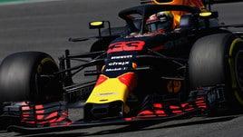 F1 Germania, Libere 2: guida Verstappen, 4° Vettel