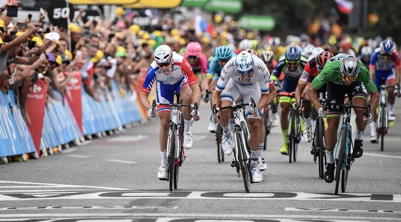 Tour de France: acuto di Sagan, Thomas resta in giallo