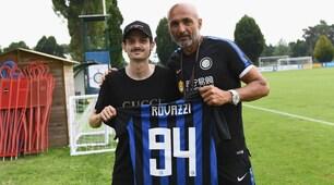 Inter, ad Appiano Gentile c'è Rovazzi