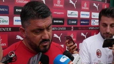 """Gattuso: """"Leonardo? Ci siamo chiariti"""""""