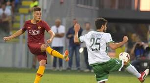 Roma-Avellino 1-1: Schick continua a segnare