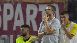 Roma, Di Francesco: «Bravo Kluivert. Alisson? Spero di batterlo»