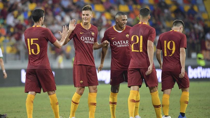 Roma-Avellino 1-1, non basta Schick: Paghera beffa Di Francesco al 92'