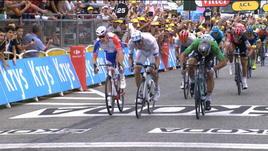 Tour, 13° tappa - A Valence vince Sagan, che rimonta!