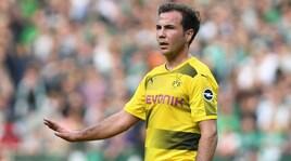 ICC, Borussia Dortmund-Manchester City 1-0. Goetze stende Guardiola