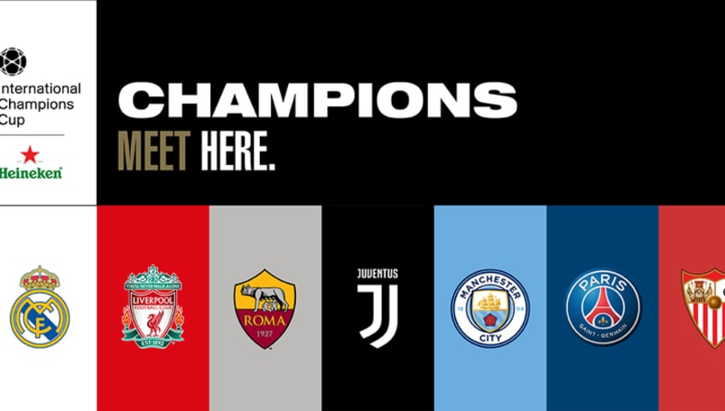 Calendario Partite Champions.International Champions Cup Calendario Partite Orari E