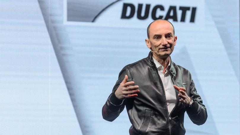MotoGp Ducati, Domenicali: «Siamo nel miglior momento della nostra storia»