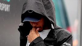F1 Germania, Hamilton: cambio bloccato in Q1, è fuori
