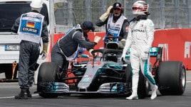 F1 Germania, Hamilton rassegnato: «Impossibile rimontare qui»