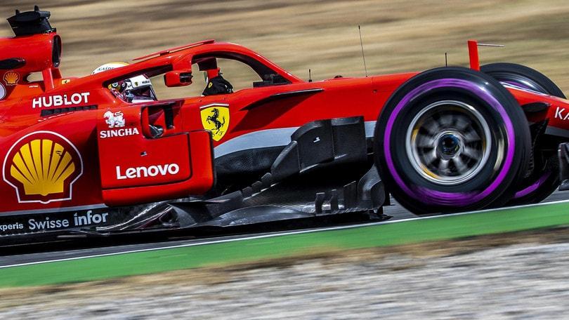 F1 Germania, Vettel comanda anche nelle quote