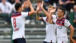 Serie A Bologna, goleada contro il Comano: 9-0