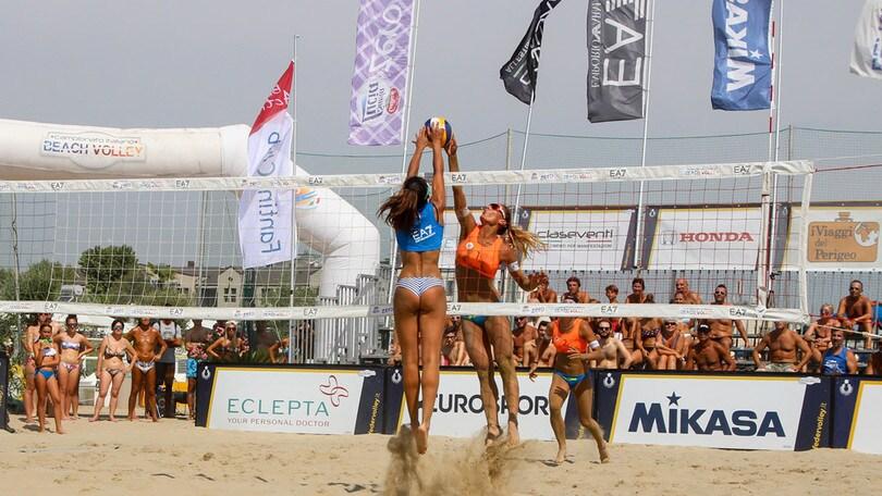 Beach Volley: a Cervia definite le prime coppie semifinaliste