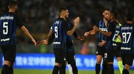 Inter-Zenit San Pietroburgo 3-3: Candreva-Icardi-Lautaro Martinez show