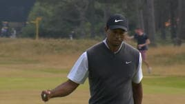 British Open, Tiger Woods è tornato