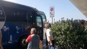 La Roma parte per la tournée americana