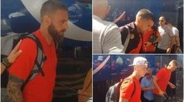 Roma, via alla tournée statunitense con Totti ma senza Defrel