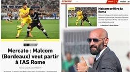 Il Bordeaux lascia a casa Malcom: «Vuole solo la Roma»