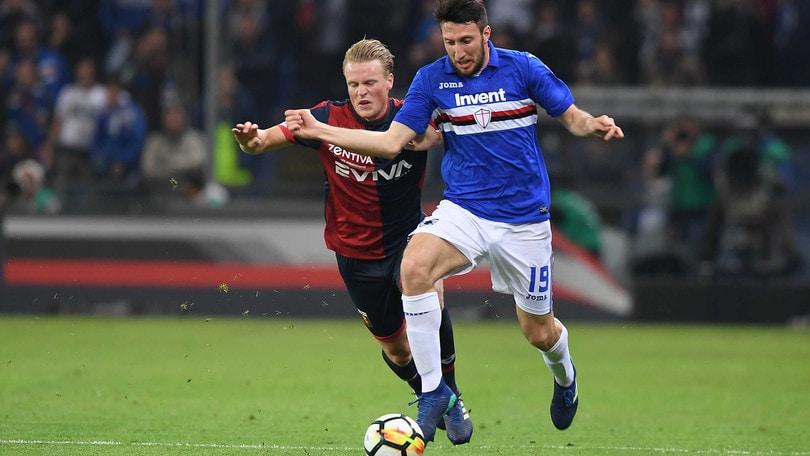 Serie A Sampdoria, Regini prosegue la riabilitazione