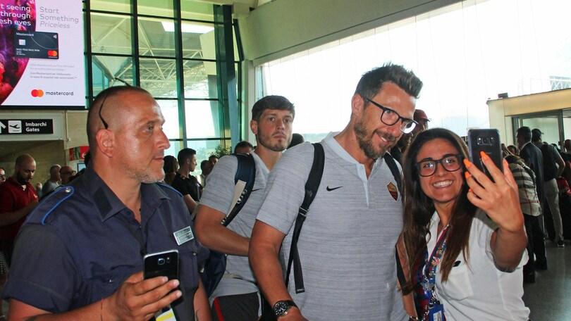 Roma, la squadra è rientrata dalla tournée negli Usa