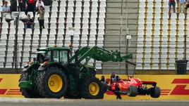F1 Germania: Vettel out, comanda Hamilton