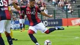 Bologna-Southampton 2-0: Falcinelli e Falletti piegano i baby inglesi
