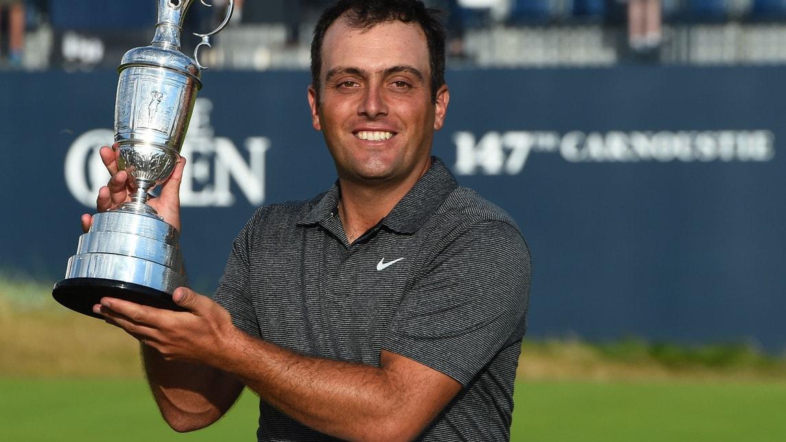Il campione azzurro di golf entra nella storia in Scozia