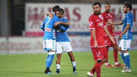 Napoli-Carpi 5-1: un altro successo per gli azzurri