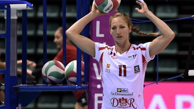 Volley: A1 Femminile, Sara Menghi terza centrale di Cuneo