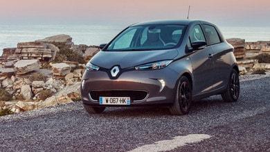Renault Zoe: in arrivo un motore da 110 cv