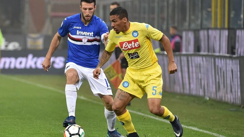 Serie A Sampdoria, Regini operato al ginocchio sinistro