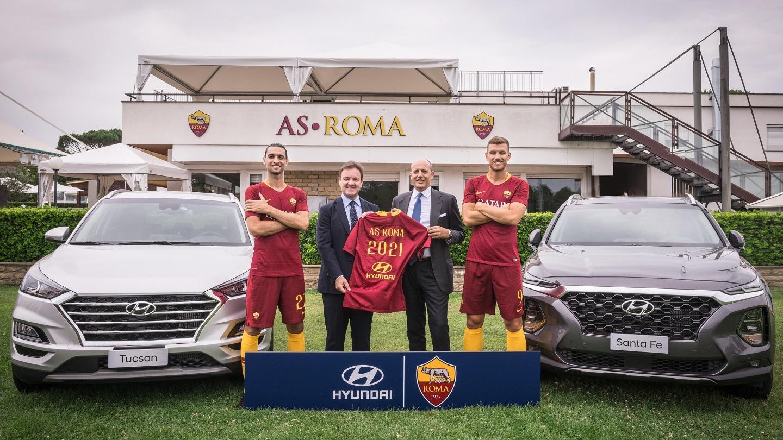 Roma-Hyundai: accordo da 10 milioni di euro