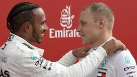 F1 Germania, Bottas: «Non lottare con Hamilton, una decisione sensata»