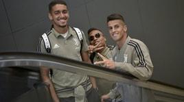 Juventus, la partenza per gli Usa