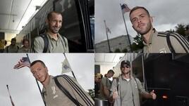 La Juventus è arrivata negli Stati Uniti