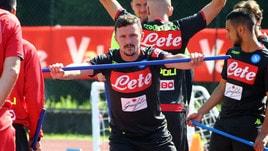 Napoli, un'arma in più per Ancelotti: a Dimaro anche Mario Rui