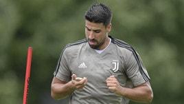 Juventus, primo allenamento negli USA: ecco Khedira