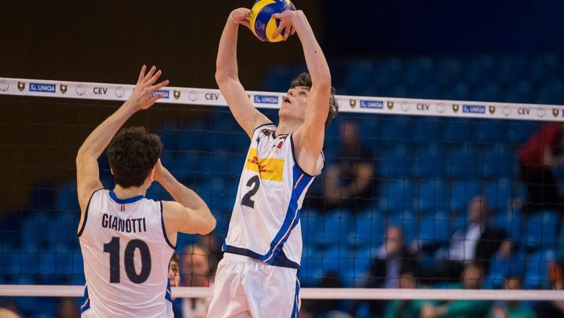 Volley: Torneo Wevza, l'Under 18 batte l'Olanda